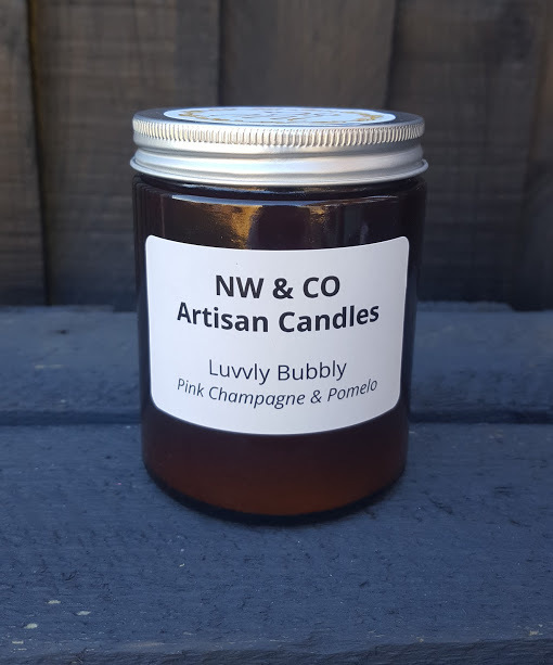 Medium Apothecary Jar Candle, 160g