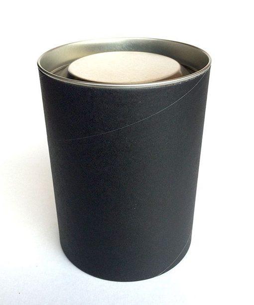 Plain Black Tube Box for Copper Mercury Candle