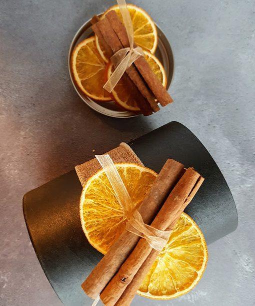 Spiced Orange Box for Copper Mercury Candle